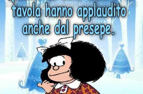 Il natale secondo mafalda dojo smile for Secondo di natale